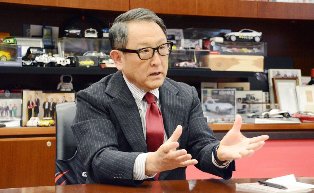 """Akio Toyoda, numero uno di Toyota, eletto """"World Car person of the year 2021"""""""