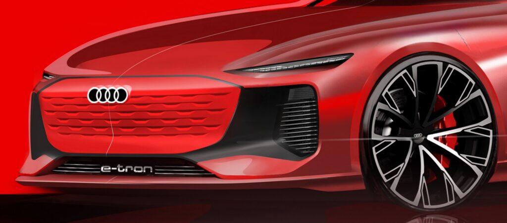 Audi e-tron: nuovo misterioso modello in anteprima al Salone di Shanghai 2021 [TEASER]