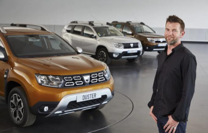 Dacia: David Durand nominato nuovo responsabile del design