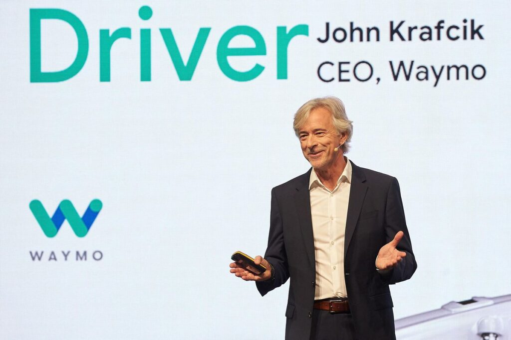 Waymo, il CEO John Krafcik ha annunciato le sue dimissioni