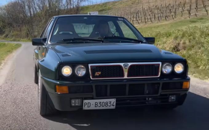 Lancia Delta HF Integrale: emozioni d'altri tempi a bordo di un'icona [VIDEO]