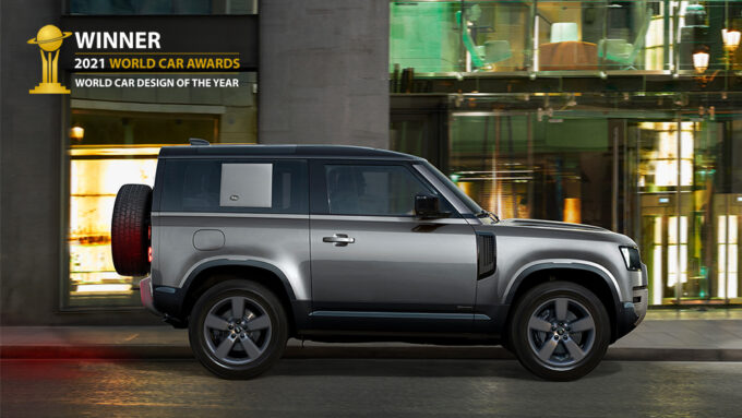 Land Rover Defender vince il World Car Design of the Year 2021 [VIDEO]