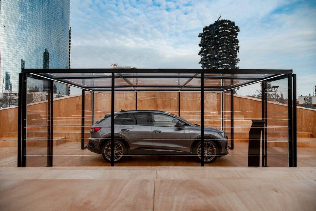 Audi Q4 e-tron anteprima milano 2021