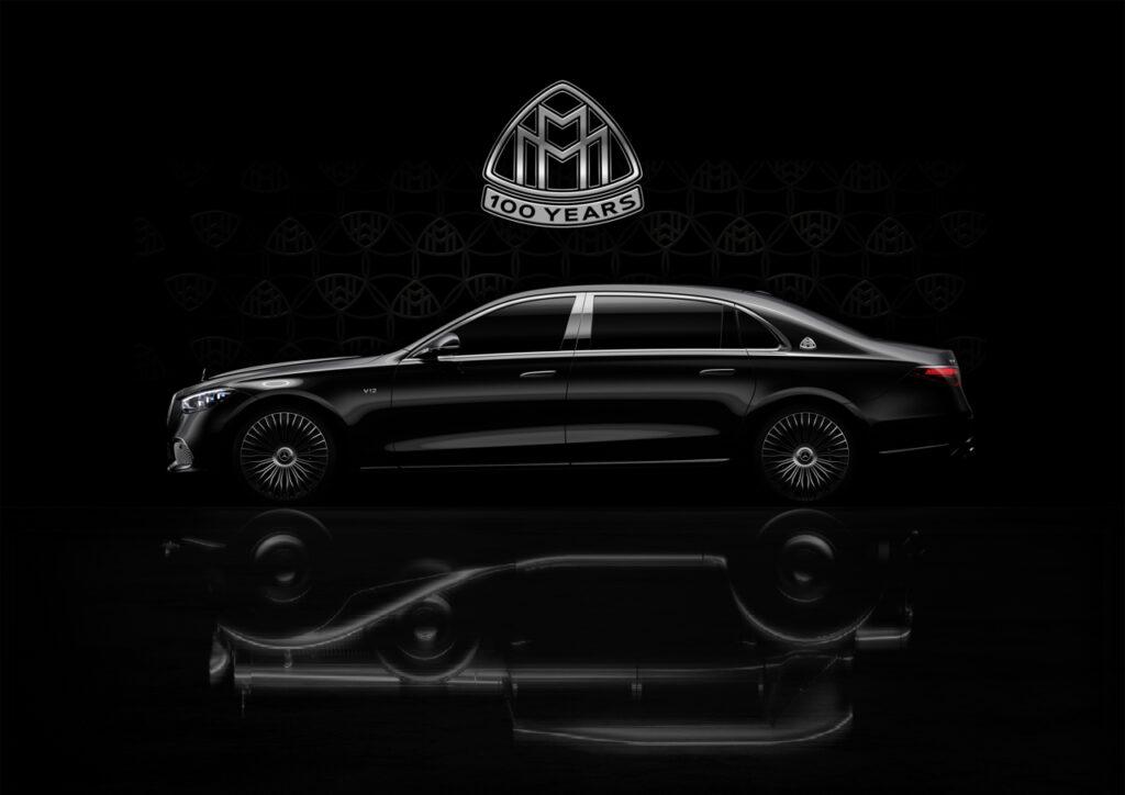 Mercedes-Maybach Classe S: versione premium con motore V12 per il centenario [TEASER]