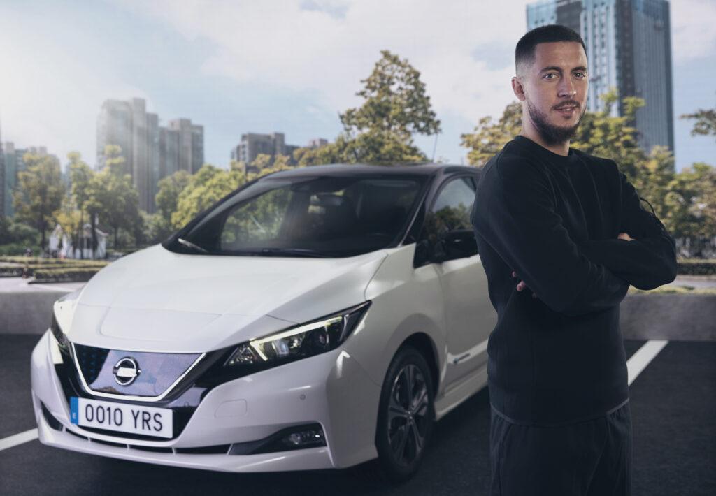 Nissan, anche Eden Hazard si unisce al movimento #ElectrifyTheWorld [VIDEO]