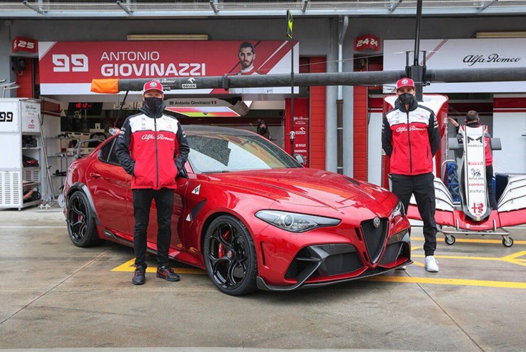 Alfa Romeo Giulia GTAm: a Imola con Raikkonen e Giovinazzi