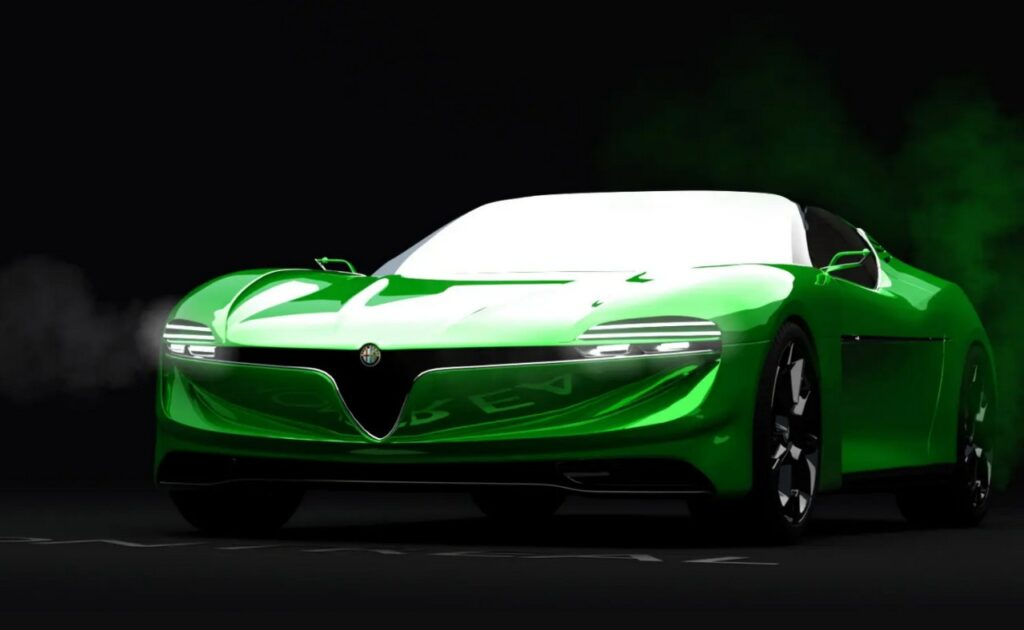 Alfa Romeo Montreal: una rivisitazione in chiave moderna [RENDER]