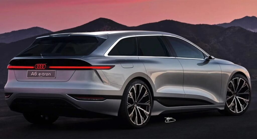 Audi A6 e-tron Concept: immaginata la sua variante Shooting Brake [RENDER]