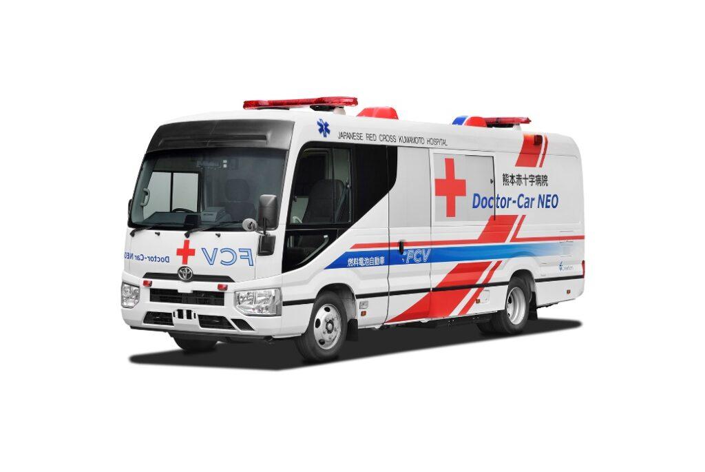 Toyota: ecco la prima clinica mobile a celle a combustibile al mondo