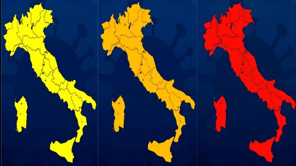 Colori regioni 12 aprile 2021: l'Italia è quasi tutta arancione