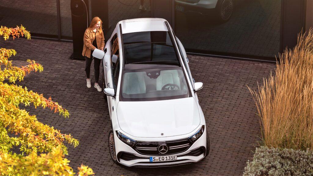 Mercedes EQB ricarica