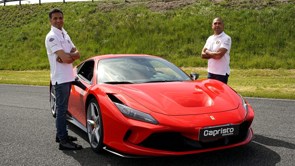 Fabio Barone Ferrari F8 Tributo 2021
