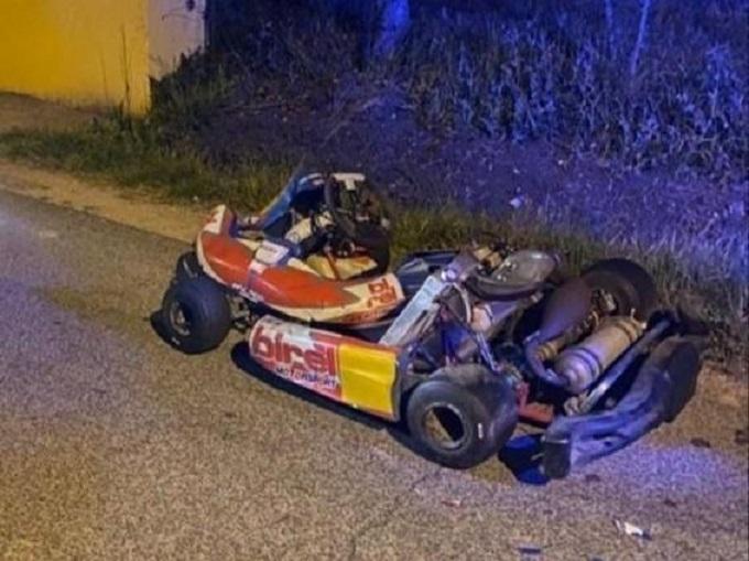 Frosinone, fugge di notte dalla Polizia su un go-kart a 150 km/h: fermato dopo un inseguimento di un'ora [VIDEO]