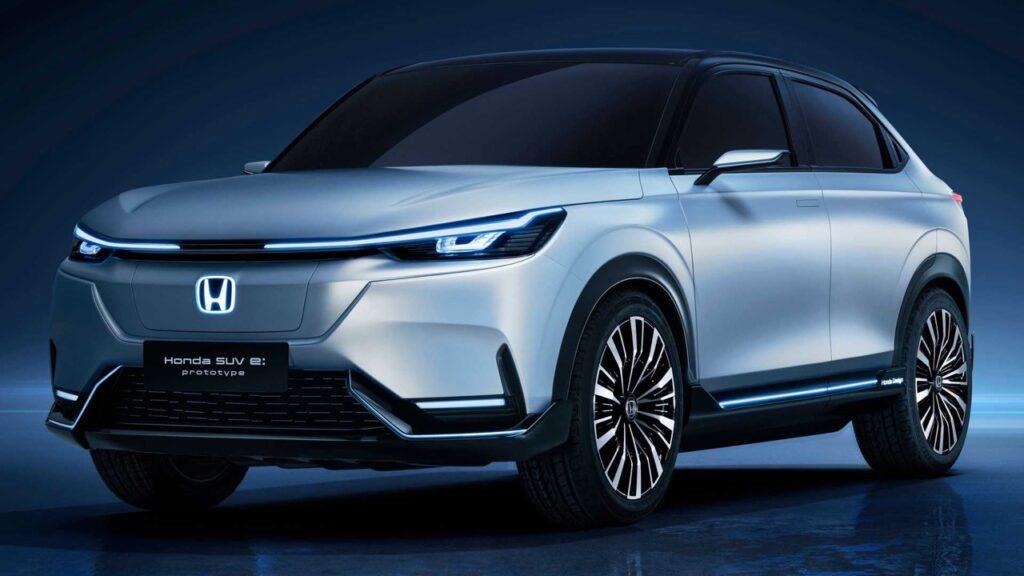 Honda SUV E:Prototype, il nuovo concept elettrico debutta al Salone di Shanghai 2021 [FOTO]