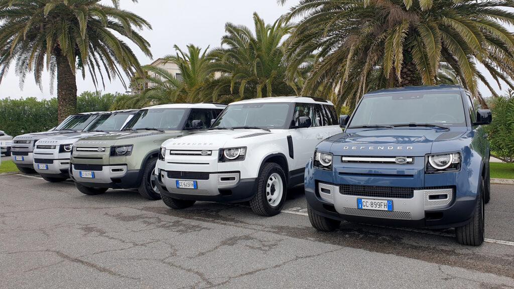 Land Rover Defender 90 ibrido