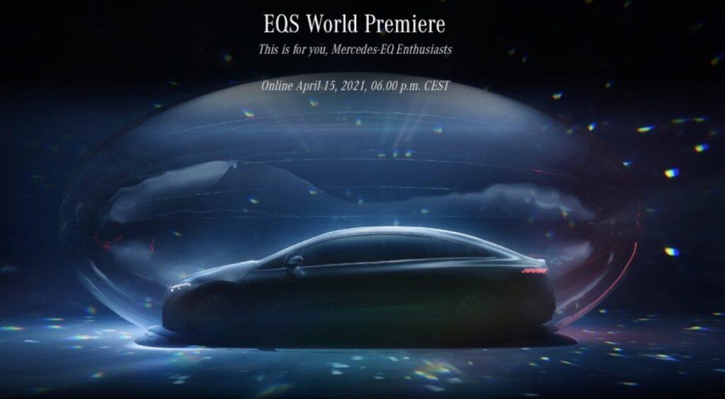 Mercedes-Benz EQS 2022: segui la DIRETTA STREAMING della presentazione, oggi alle 18:00