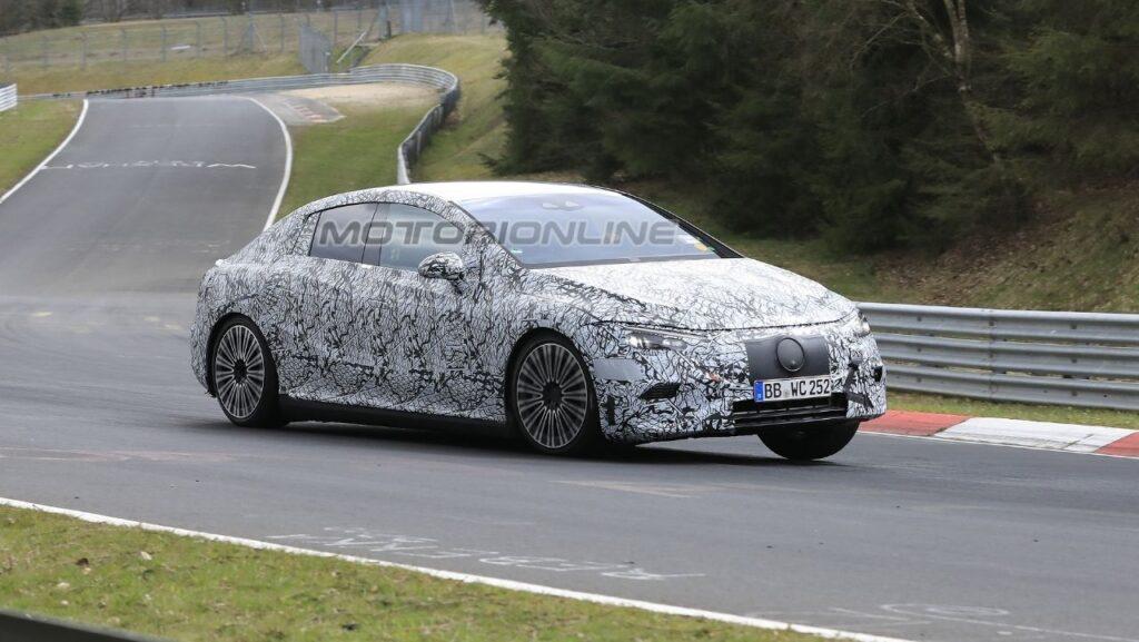 Mercedes-Benz EQE - Foto Spia 20 apr 2021