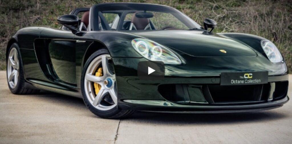 Porsche Carrera GT: un esemplare unico in vendita in Inghilterra, che sound il V10 aspirato [VIDEO]