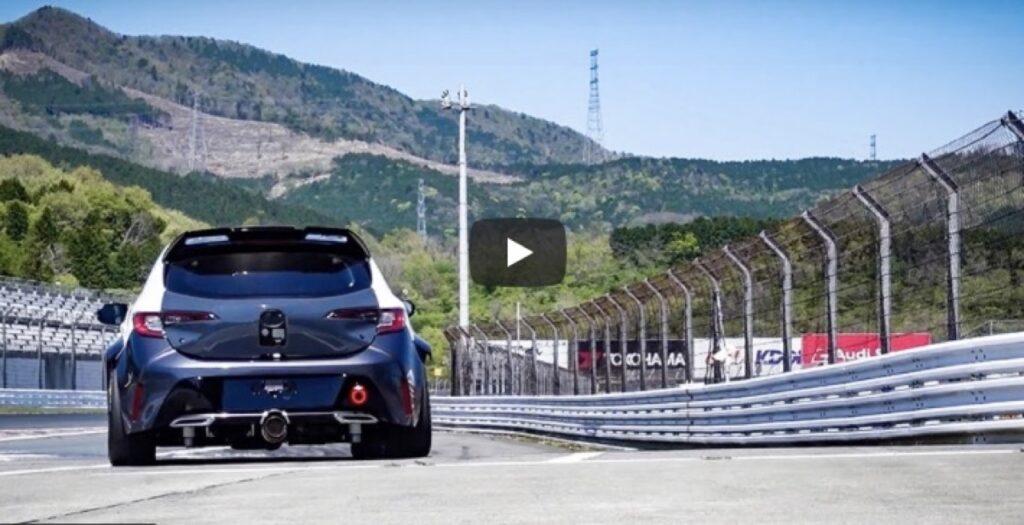 Toyota Corolla: che grinta questo prototipo con un motore a idrogeno e zero emissioni [VIDEO]