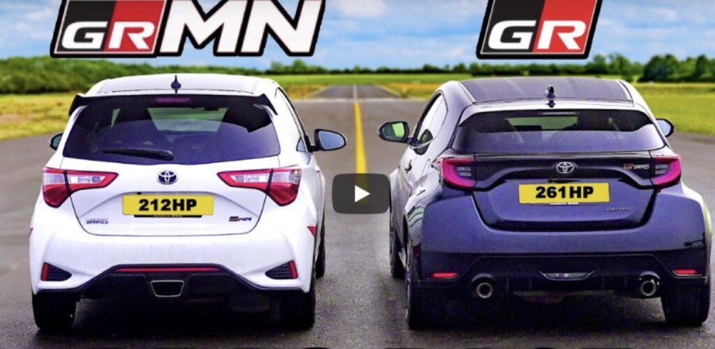 Toyota GR Yaris vs Yaris GRMN: sfida tra piccole giapponesi pepate [VIDEO]