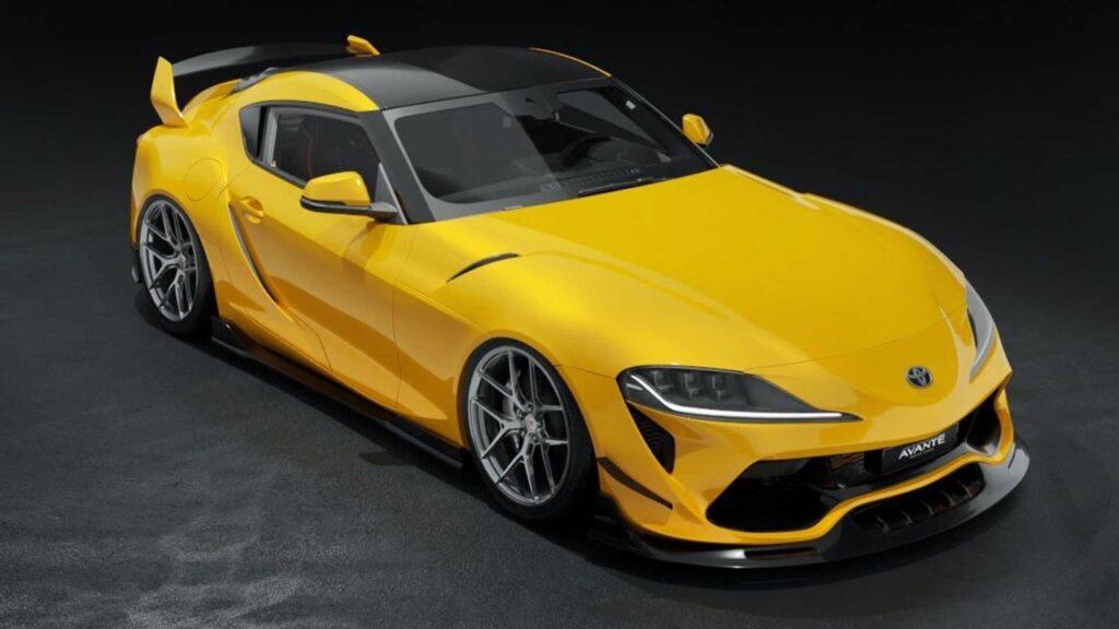 Toyota Supra: il kit estetico di Avante Design è ciò che le serve