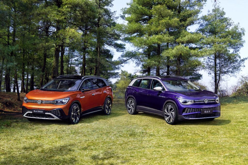 Volkswagen ID.6: il SUV elettrico 7 posti, solo per la Cina