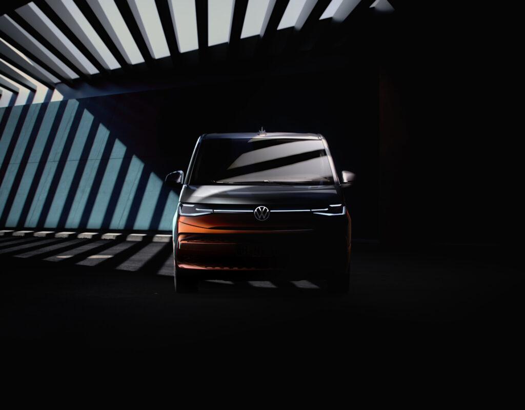 Volkswagen T7: nuove immagini del rinnovato Multivan [TEASER]