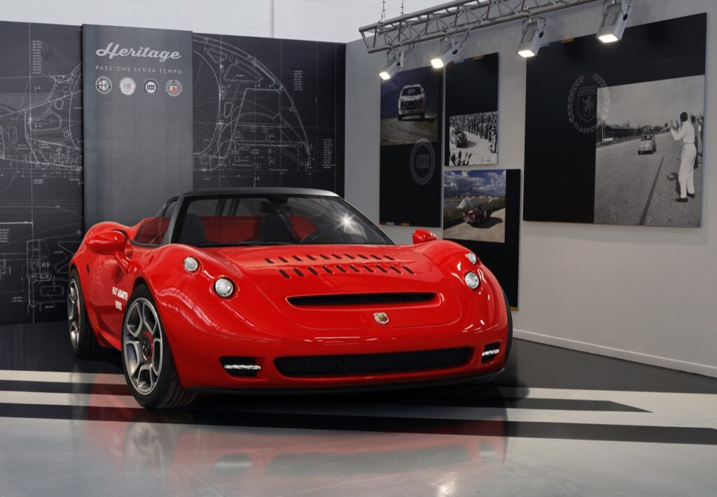 Abarth 1000 SP - one-off 2021
