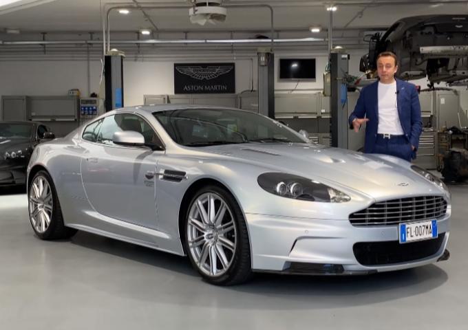 Aston Martin DBS madrina della polizza Gino Luxury Protection [VIDEO]
