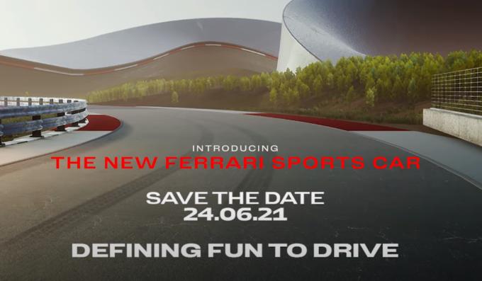 Ferrari V6 Hybrid, ci siamo: sarà presentata il 24 giugno [TEASER e FOTO SPIA]