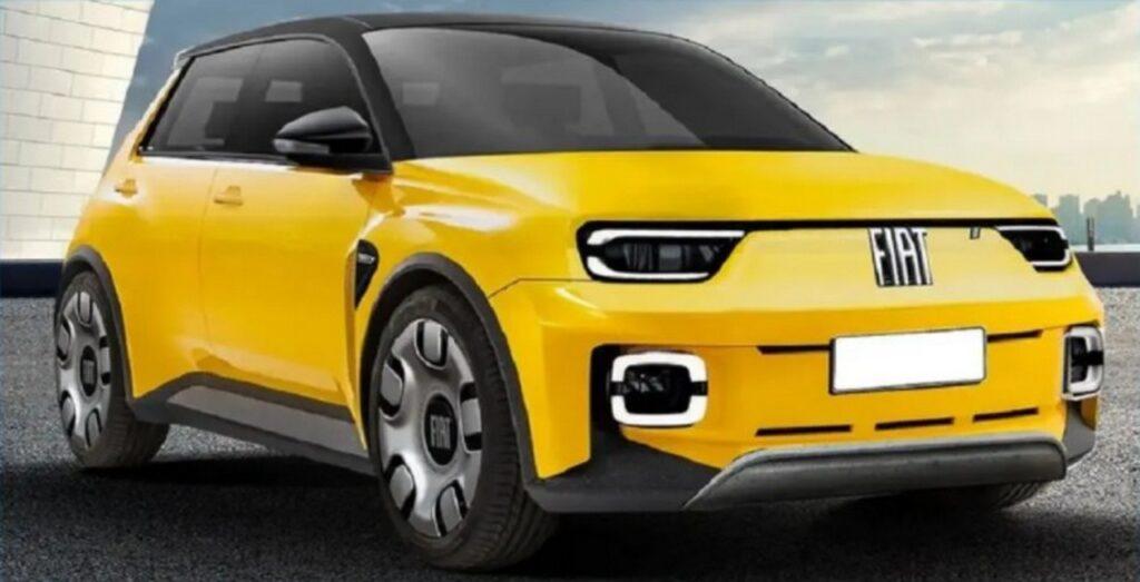 Fiat Panda: la nuova versione potrebbe essere un SUV elettrico [RENDER]
