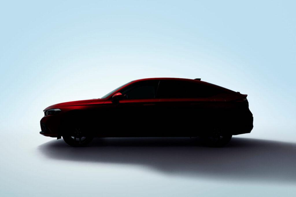 Honda Civic 2021: il 24 giugno sarà presentata la hatchback [TEASER]