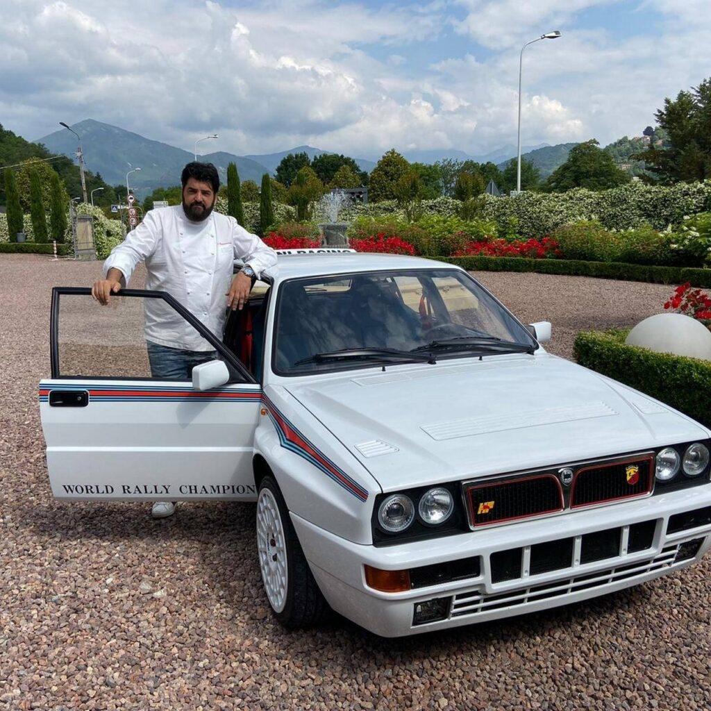 Antonino Cannavacciuolo e la sua collezione di auto. La preferita? Lancia Delta Integrale