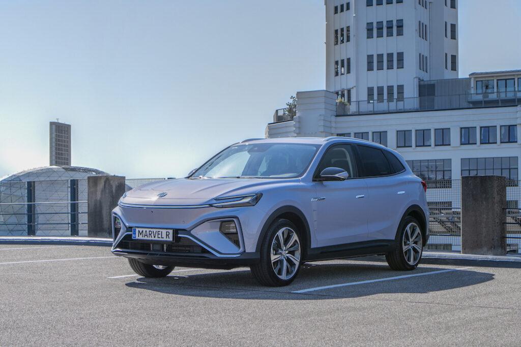 MG Marvel R Electric 2021: il nuovo SUV elettrico di seconda generazione [FOTO]