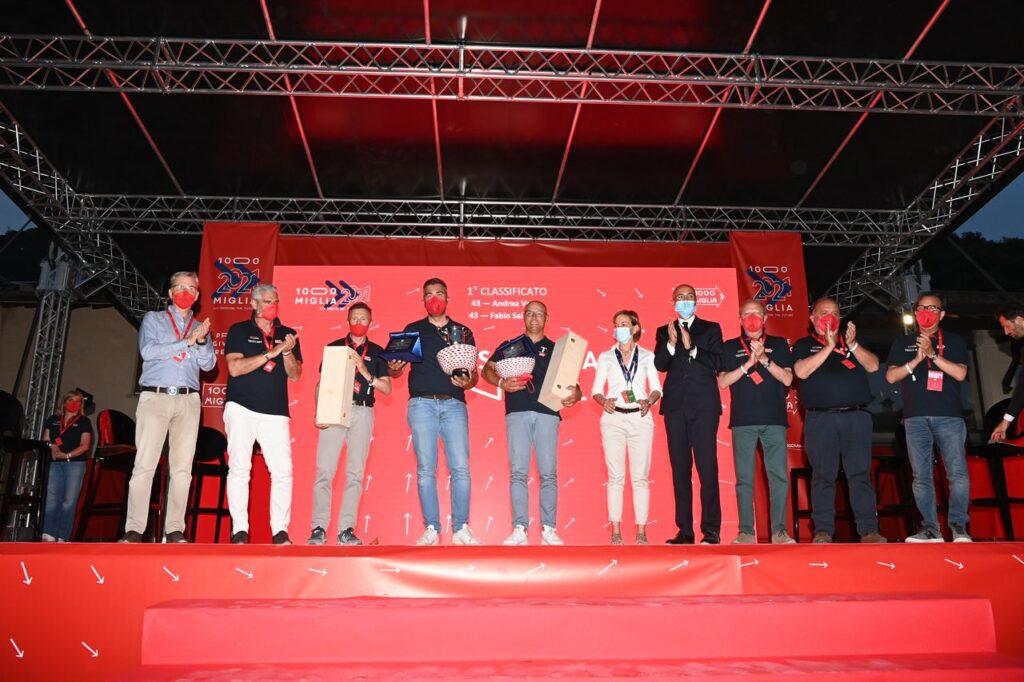 Mille Miglia 2021   Vittoria per Vesco e Salvinelli, l'equipaggio MaFra Lopresto e Mattioli tra i primi cento