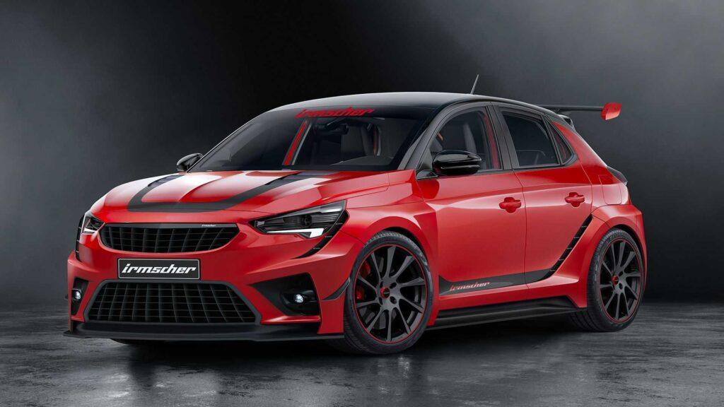 Opel Corsa iRC: la serie limitata di Irmscher da 200 CV e stile da WRC