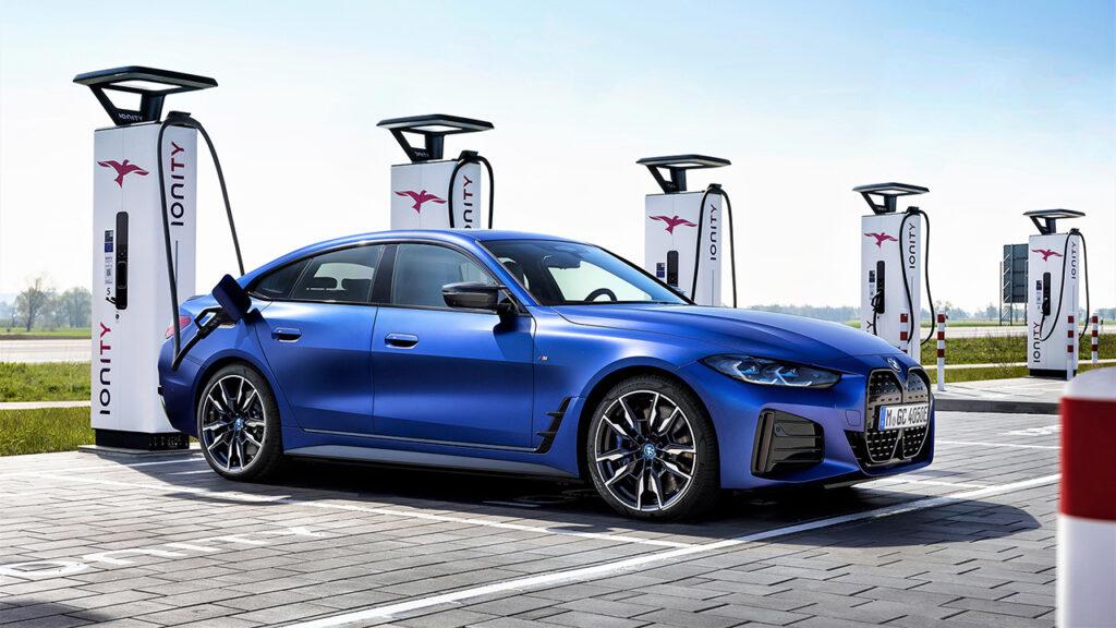 BMW i4 M50 Ionity