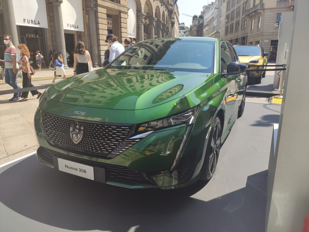 Peugeot 308 plug-in - MiMo 2021