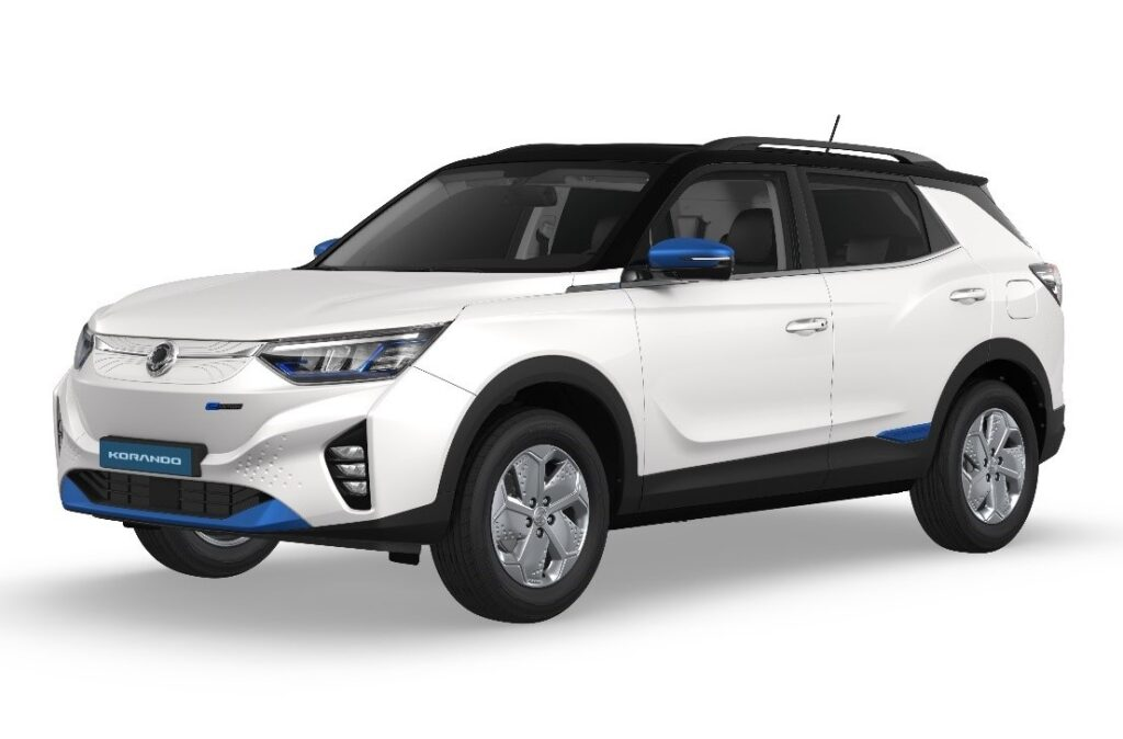 SsangYong Korando e-Motion: primo di tre modelli elettrici, seguiranno un SUV e un pick-up