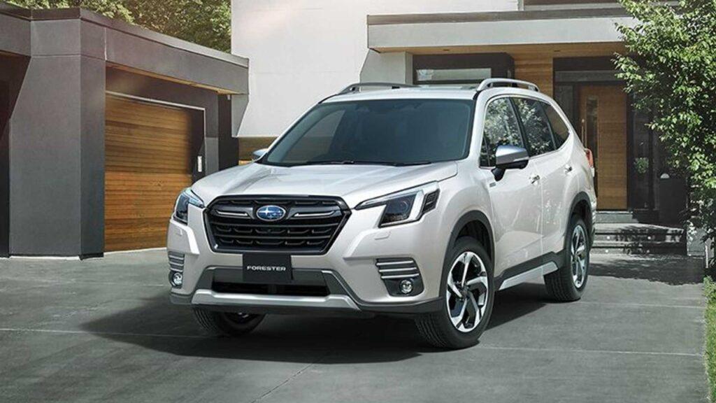 Subaru Forester 2022 - Foto ufficiali Giappone