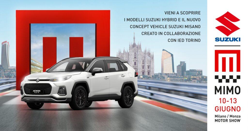 Suzuki al MiMo 2021 con un mix di tecnologia, performance e stile