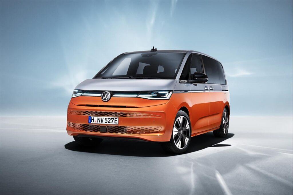 Volkswagen T7 Multivan - Foto ufficiali