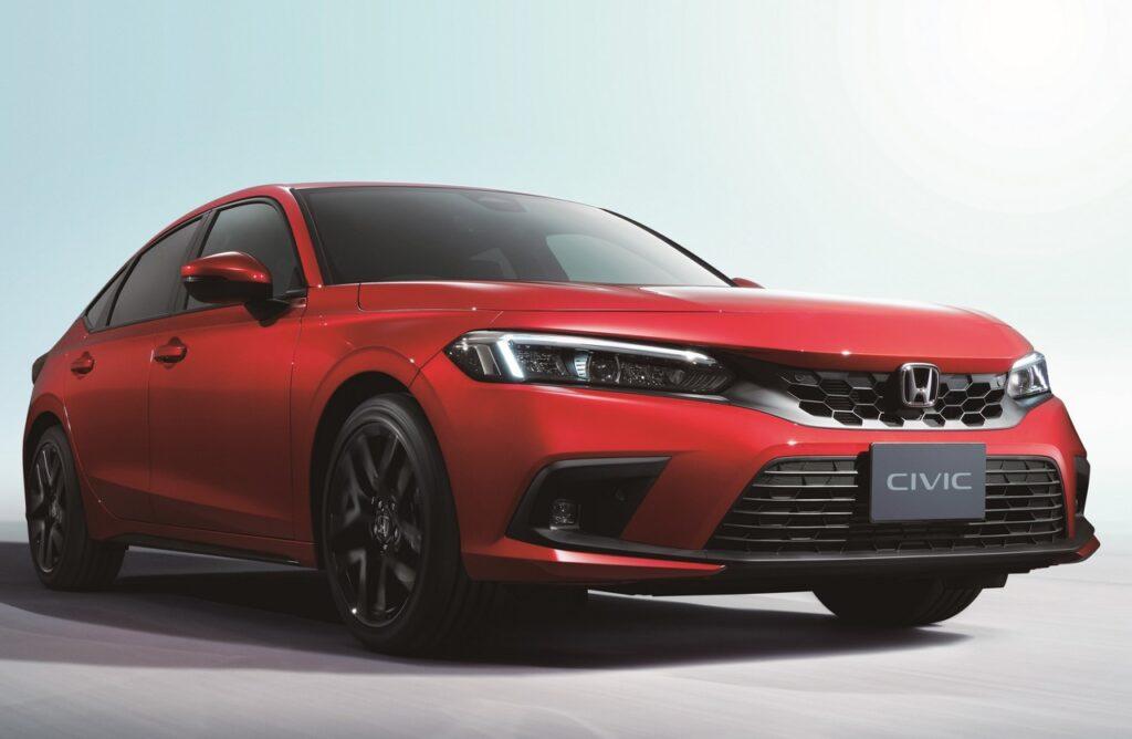 Honda Civic 2022: ecco la hatchback, sarà solo ibrida [FOTO]