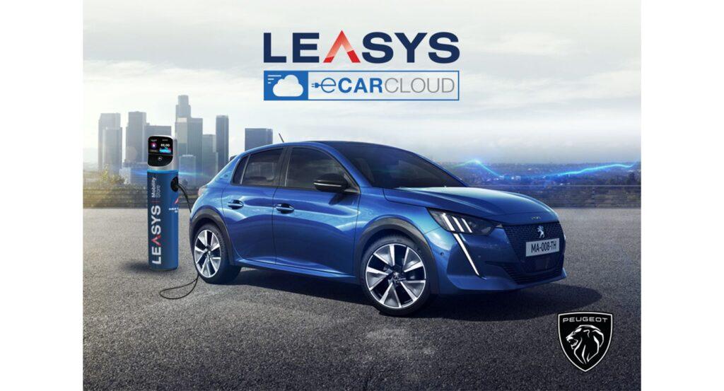 Leasys lancia i nuovi e-CarCloud Peugeot e-208 e DS E-Tense