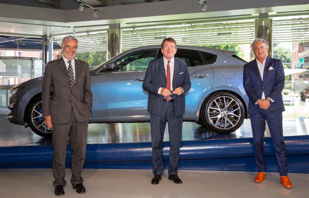 Maserati: sponsor del Padiglione Italia ad Expo Dubai
