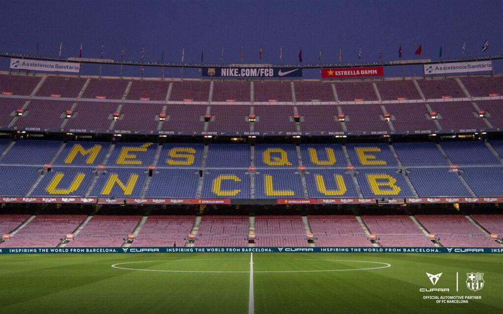 Cupra: operazioni di branding direttamente al Camp Nou con i Freekickerz