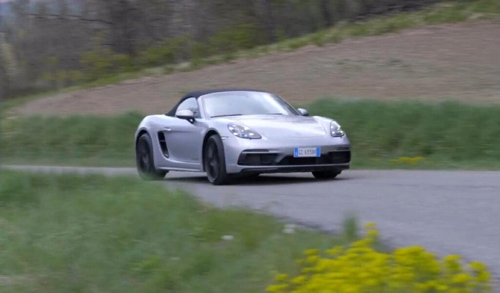 Porsche 718 Boxster GTS - Prova su strada