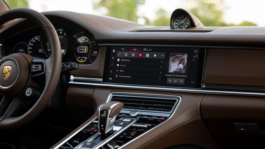 Porsche: arriva la sesta generazione di Infotainment con Android Auto
