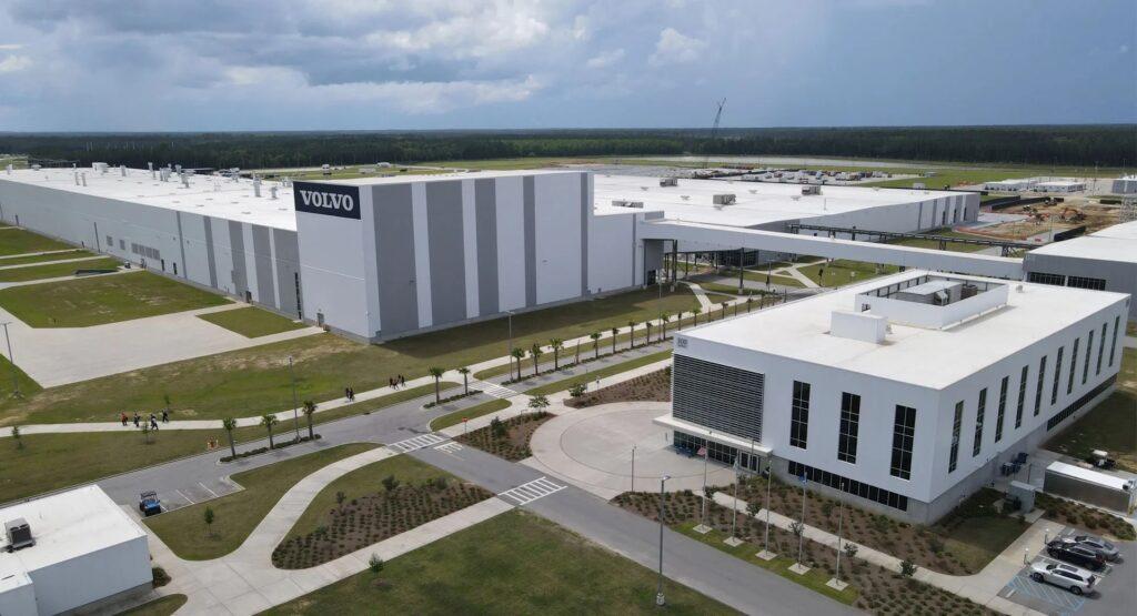 Volvo: la prima fabbrica per auto elettriche sarà costruita in America
