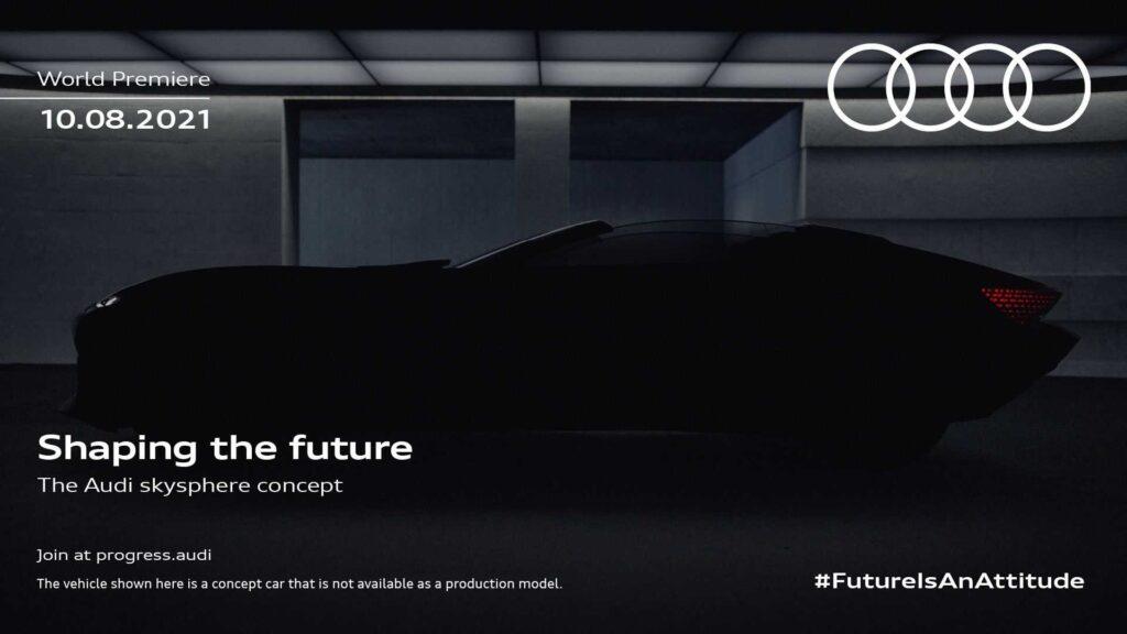 Audi Sky Sphere Concept - Teaser